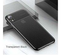 Baseus Glistening and transparent Case для iPhone XR прозрачно-черный