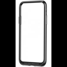 Baseus Platinum Metal Border Case для iPhone X серый