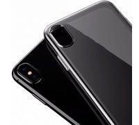 Baseus Simple Series Case For iPhone X прозрачно-черный