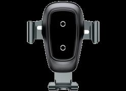 Автодержатель Baseus Metal Gravity Car Mount Silver 10W черный