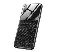 Чехол Baseus Glass & Weaving Apple iPhone XR черный