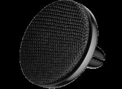 Автомобильный ароматизатор Baseus Car Fragrance Fabric Artifact Silver (SUXUN-BY0G) черный