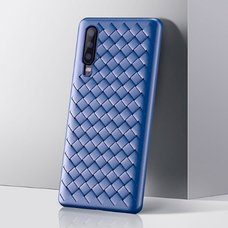 Baseus BV Weaving Case For HUAWEI P30 синий