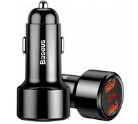 Автомобильное зарядное устройство Baseus Magic Series Dual QC черный