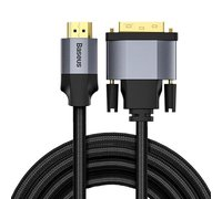 Кабель Baseus Enjoyment Series 4KHD Male To DVI Male bidirectional Adapter Cable 2m