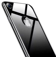 Baseus 4D Arc Back Glass Film For iPhone 8 серый