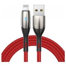 Кабель Baseus Horizontal Data Cable USB - Lightning 0.5 М красный