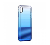 Baseus Colorful airbag protection Case For iPhone X/XS голубой