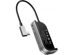 USB-концентратор Baseus Bend Angle No.7 Multifunctional Type-C для iPad Pro