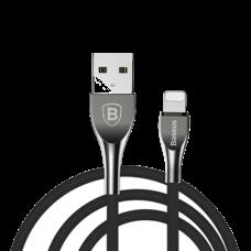 Кабель USB Baseus Mageweave Zinc Alloy Cable lightning 2A черный