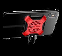 Переходник Baseus X-Men Audio Radiator красный