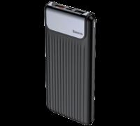Внешний аккумулятор Baseus Thin Digital 10000mAh Power Bank черный