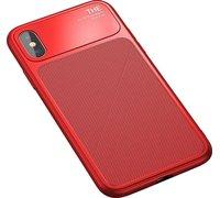 Baseus Knight Case For iPhone X красный