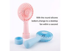 Мини-вентилятор Baseus Lightly Portable Fan светло-голубой