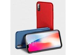 Baseus Audio Case для iPhone X красный