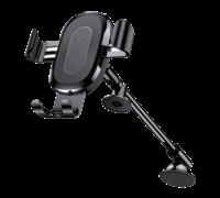 Беспроводное ЗУ-автодержатель Baseus Mount Wireless Charger черный