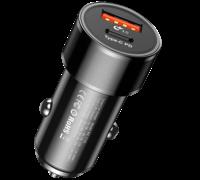 Автомобильная зарядка Baseus CAXLD-A01/A09 черный
