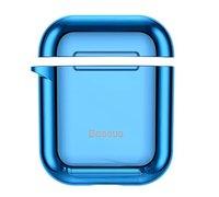 Чехол для наушников Baseus Shining hook Case ForPods 1/2 голубой