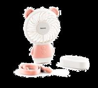 Мини-вентилятор Baseus Dharma bear Fan розовый