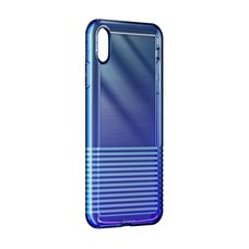 Baseus Colorful airbag protection Case For iPhone XS Max фиолетовый