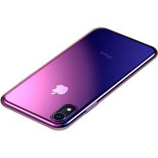 Baseus Glow для Apple iPhone XS Max Gradient фиолетовый