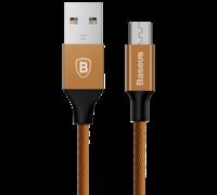 Кабель Baseus Yiven Cable MicroUSB 1 М коричневый