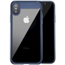 Baseus Suthin case For iPhone X синий