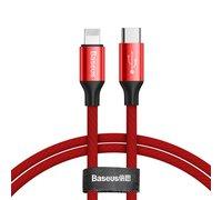 Кабель Baseus Yiven Series Type-C для Lightning Cable 2A 1m красный