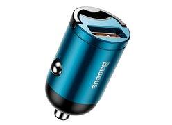 Автомобильное зарядное устройство Baseus Tiny Star Mini Quick Charge USB Port 30W синий