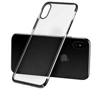 Baseus Glitter Case для iPhone X черный