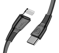 Кабель USB Baseus Tough Type-C to IPhone черный