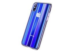 Baseus Aurora Case для iPhone XS MAX синий