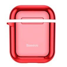 Чехол для наушников Baseus Shining hook Case ForPods 1/2 красный
