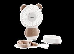 Мини-вентилятор Baseus Dharma bear Fan коричневый