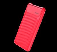 Внешний аккумулятор Baseus Thin Digital 10000mAh Power Bank красный
