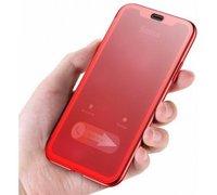 Чехол-книжка для iPhone XS Max с сенсорной крышкой Baseus Touchable Case красный