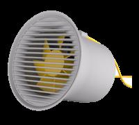Настольный вентилятор Baseus Small Horn Desktop Fan серый