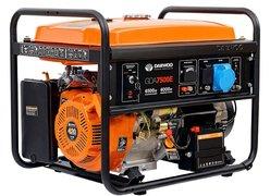 Бензиновый генератор Daewoo Power GDA 7500E
