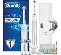 Электрическая зубная щетка Braun Oral-B Genius 10000N D701.545.6XC (белый)