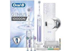Электрическая зубная щетка Braun Oral-B Genius 10000N D701.545.6XC (сиреневый)