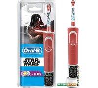 Электрическая зубная щетка Braun Oral-B Kids StarWars D100.413.2K