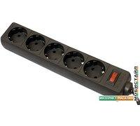 Сетевой фильтр Defender 5 розеток, 3 м, черный [ES 99485]