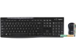 Клавиатура + мышь Logitech Wireless Combo MK270