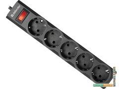 Сетевой фильтр Defender ES largo 3 (черный)