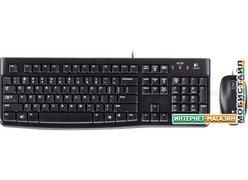 Клавиатура + мышь Logitech MK120