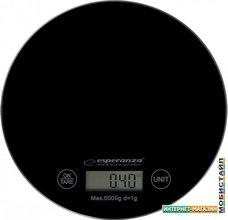 Кухонные весы Esperanza Mango EKS003 (черный)