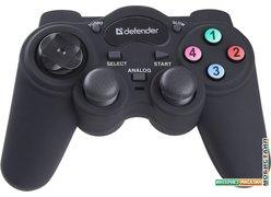 Геймпад Defender Game Racer Turbo RS3 USB-PS2/3 [64251]