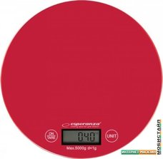 Кухонные весы Esperanza Mango EKS003 (красный)