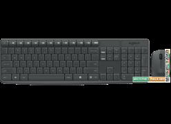 Клавиатура + мышь Logitech MK235 Wireless Keyboard and Mouse [920-007948]