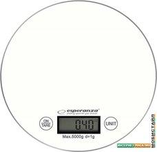 Кухонные весы Esperanza Mango EKS003 (белый)